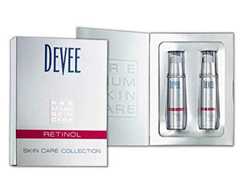 Devee Retinol Anti Aging Serum + Tagescreme SPF 15 Geschenkset - By Beauty & Legwear Store