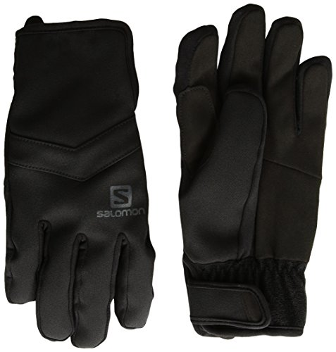 Salomon Gloves RS Warm Glove M - Guantes, Hombre, Negro - (Black)
