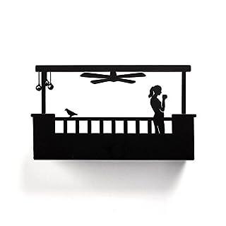 Artori Design Key Holder for Wall | Balcony For Her| Favorite Place For Her Stuff | Storage Solution| Key Holder Organizer| Metal Shelf