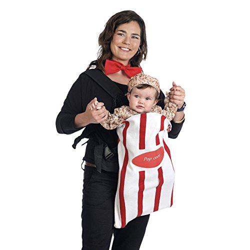 Limit Babykostüm Tragetaschenbezug Popkorn + Fliege (MB702) NEU (Baby Kostüme Popcorn)