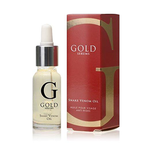 GOLD SERUMS Huile de Soin Visage au Venin de Serpent 15 ml