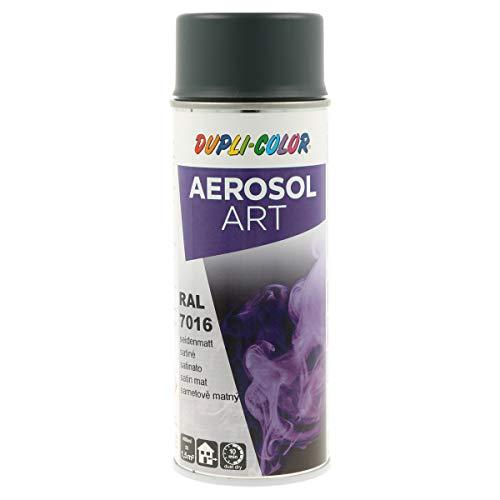 DUPLI-COLOR 126192 Aerosol Art 7016, RAL 9016 Anthrazitgrau Seidenmatt