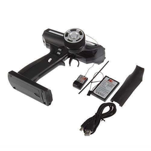3-Kanal Sender mit GR3E Empfänger FS-GT3C für RC Auto Boot RC Sender 2,4-2,48 GHz Radio System Anti-Jamming