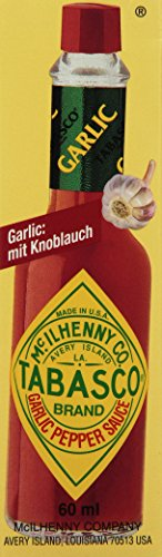 Tabasco Knoblauch, 3er Pack (3 x 60 ml)