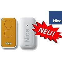 Nice inti2y Yellow 2de canal handsender, 433.92MHz Rolling Code. compatible con flor de S, One, Flore, INTI fernbedienungen.