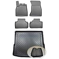 Velours Fußmatten Auto-matten Set für Audi A4 B7 2004-2008 VORN Stoff Sommer