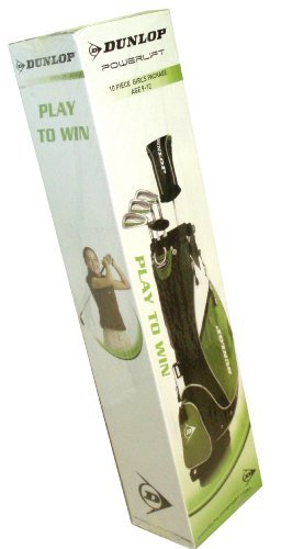 Dunlop Powerlift 10 Piece Girls Golf Club Set - Right Handed by Dunlop