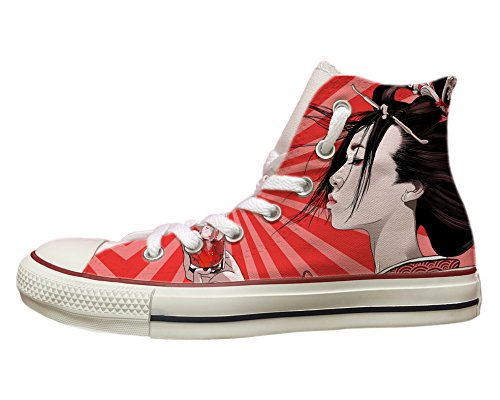 Converse All Star con Stampa Geisha Multicolor