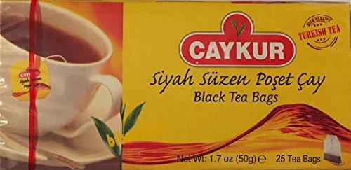 Caykur Beuteltee 25 Beutel Türkischer Tee - 2er Pack