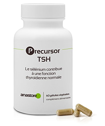 Precursor TSH * 60 gélules * Précurseur des hormones thyroïdiennes * Aide à lutter contre la fatigue et les troubles de l'humeur* Fabriqué en France