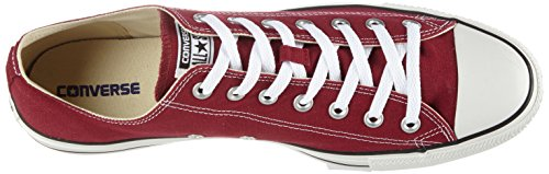 CONVERSE Chuck Taylor All Star Seasonal Ox, Unisex-Erwachsene Sneakers Rot (Bordeaux)