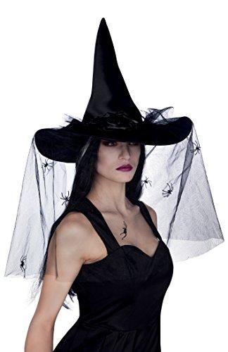 Boland 96985 - Hexenhut für Erwachsenene (Esmeralda Kostüm Erwachsene)