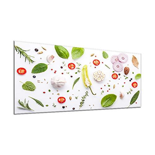 decorwelt | Housse de Protection en céramique 90 x 52 cm - 1 pièce - pour plaques de Cuisson - Protection Contre Les éclaboussures - en Verre