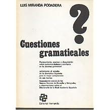 CUESTIONES GRAMATICALES. 7ª ed.