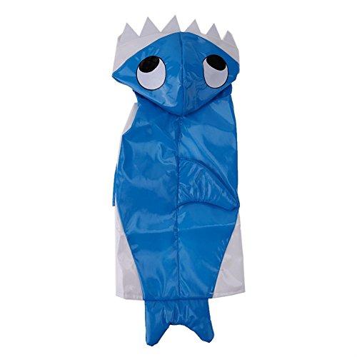 en Kleidung Anzug Winter Warm Hund Verkleidungen Shark Kostüm ()