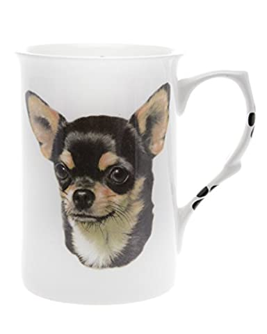 Bone China CHIHUAHUA-SHORT HAIR 10 Fl Oz Dog Beaker, Mug