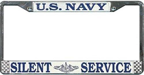 Preisvergleich Produktbild US Navy Submarine Silent Service License Plate Frame by Honor Country