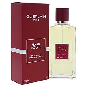 Guerlain Habit Rouge Eau De Parfum Spray, 100.55ml