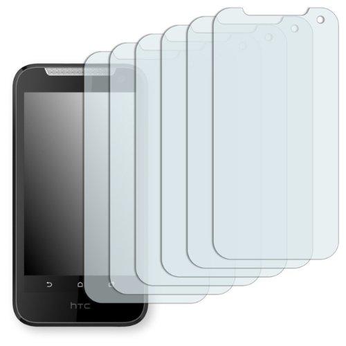 6 x Golebo Displayschutzfolie für HTC Desire 310 Schutzfolie Folie