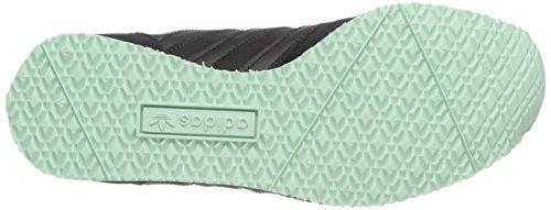adidas Originals ZX Racer - Scarpe da Ginnastica Basse Donna Schwarz (Core Black/Core Black/Ftwr White)