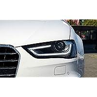 GOWE - Faros Delanteros para Audi A4 2014 2015, Alta configuración, Lente DRL A4
