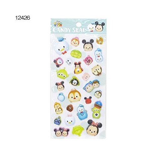 Kamio Japan Disney Tsum Tsum Candy Stickers Bleu