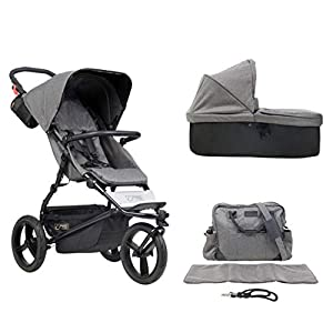 Mountain Buggy Model: Urban Jungle Luxury Collection Herringbone Including Changing Bag and Baby seat (carrycot Plus)   13