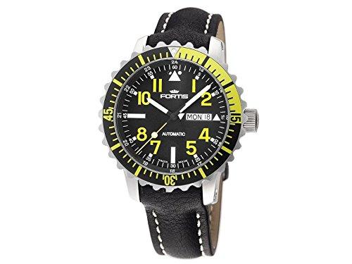 Fortis Orologio per Uomini Marinemaster Yellow Automatico 670.24.14 L 01