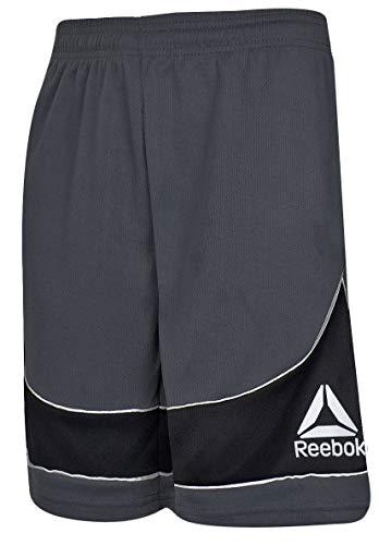 d6c0f5bf2e31 Reebok Two-Toned Athletic Performance Shorts Charcoal Light Gray Size Medium