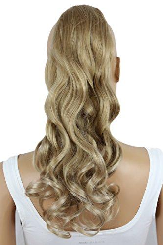 PRETTYSHOP Haarteil hairpiece Zopf Pferdeschwanz Haarverlängerung 60cm gewellt diverse Farben HC23-1