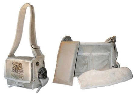 Pet Halle Natural Sherpa Pony Express Airline Pet Carrier