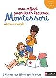 Mon coffret premières lectures Montessori - Mina est malade - Niveau 1 - 4/7 ans