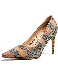 70fadb85d3581 Slip de Mujer en Stilettos Fiesta de Las Bombas de la Cara de los Zapatos de