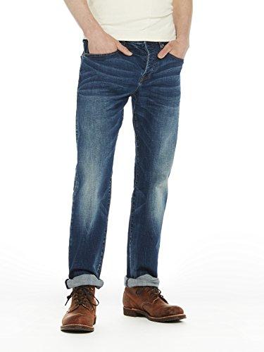 Scotch & Soda Herren Straight Jeans Vernon-Kimono Yes Blau (Kimono Yes 1845)