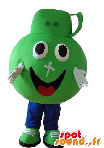 mascota-spotsound-de-productos-para-el-hogar-verde-dettol