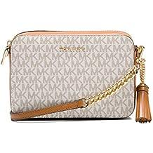 comprare popolare 06e02 4a5af Amazon.it: borsa tracolla michael kors - Bianco