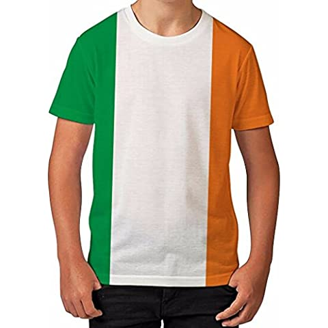 Ireland Flag Irish St Patricks Day Patriotic Boys Unisex Kids Child T Shirt