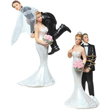 Gateau De Mariage Couple De Maries Figurine De Gateau De Mariage Couple De Maries Geschnappt 746