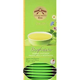 Almar Golden Bridge Premium Tea O.S.T.B -Bergkräuter - 30 Teefilter, 39 g