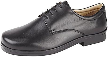 Roamers - Zapatos Extra Anchos con 4 Ojales