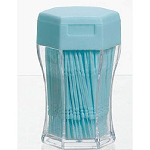 shuaishuang573 200PCS / SET Double Head Zahnseide Zahnseide Kunststoff Interdental Zahnstocher