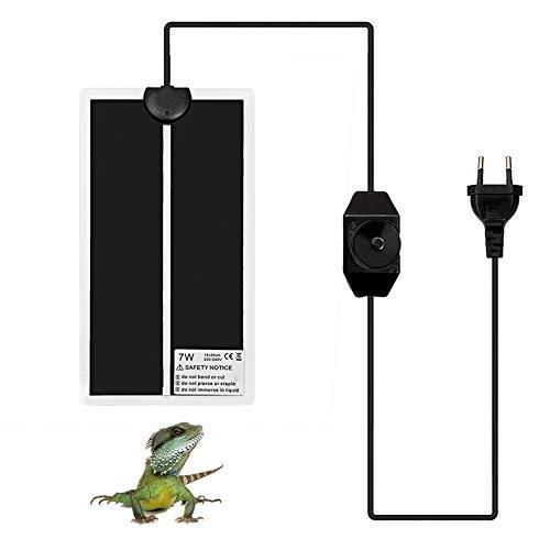 Wiivilik 5W Impermeables / 7W / 14W / 28W para Mascotas cojín de calefacción eléctricos del Reptil...