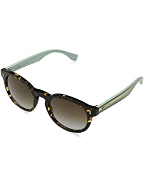 Fendi Ff 0085/S If, Gafas de Sol para Mujer, Hvnspttd Grn, 50