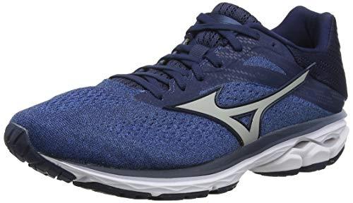 Mizuno Wave Rider 23, Zapatillas de Running para Hombre, Azul (Campanula/VaporBlue/DressBlues 4), 42 EU
