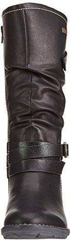 s.Oliver 56600, Bottes hautes Classiques Fille Noir (Black 1)