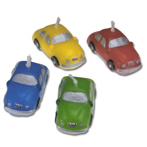 Stampini per Auto a Forma di Candela, Multicolore, 5cm, Pezz