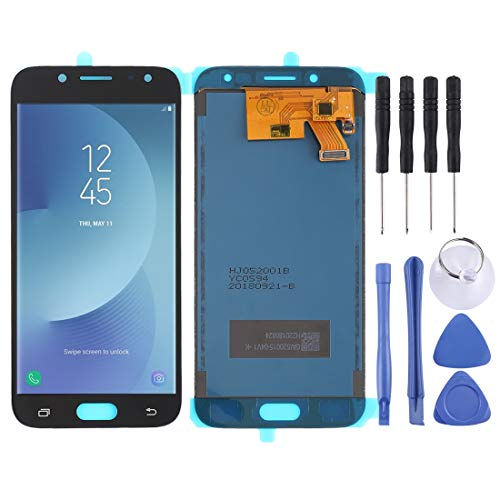 LCD + Frame +Touch Pad +Front Frame Replacement Ersatz-LCD-Bildschirm + Touchscreen und Digitizer Full Assembly (TFT-Material) für Galaxy J5 (2017), J530F / DS, J530Y / DS (Schwarz) Digitizer Full Ass (Ass Ds)