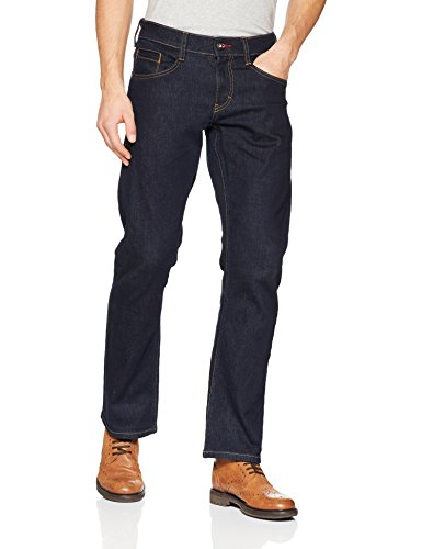 Mustang Herren Jeans Oregon Straight Blau (Rinse Washed 590)