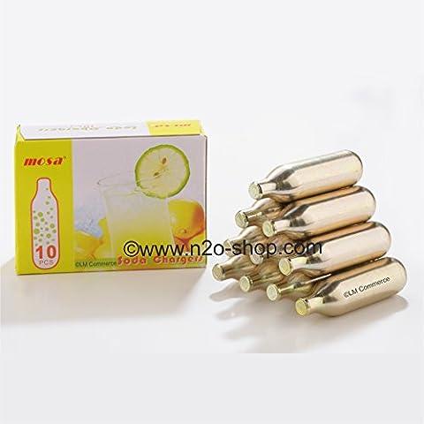 360 x 8 G CO2 Soda capsule gassate cartucce per
