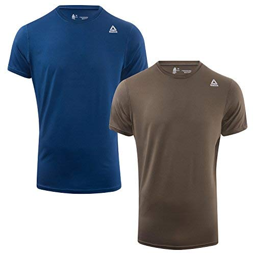Reebok Underwear Herren Reebok Sports T Shirt Simon Herren Mehrfarbig (2PKA - 2pk Washed Blue/Army Green)